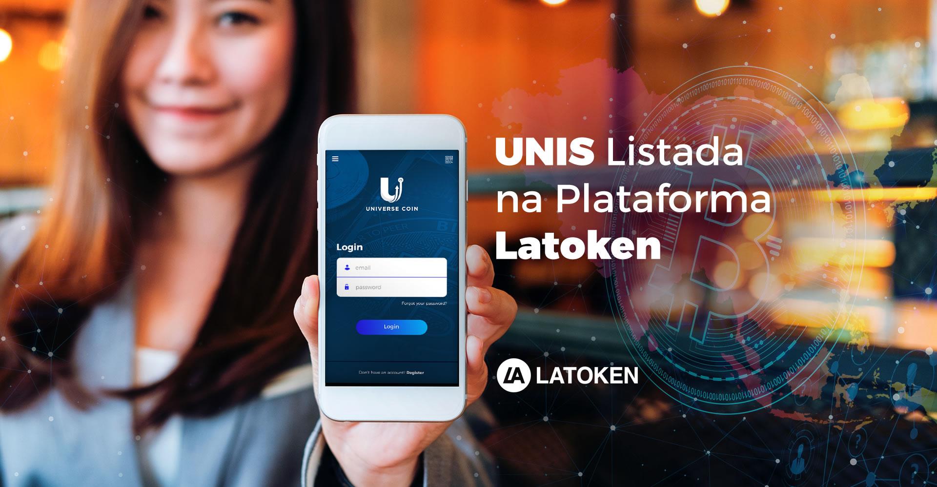 UNIS Listada na Plataforma Latoken